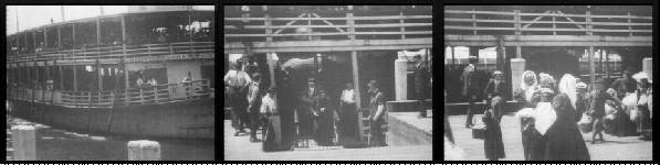 Ellis island castle garden barge office immigrant processing centers for new york for Castle garden immigration records